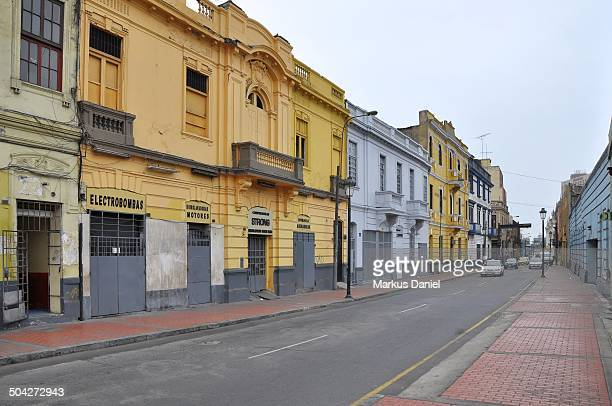 calle carabaya in lima - markus daniel stock pictures, royalty-free photos & images