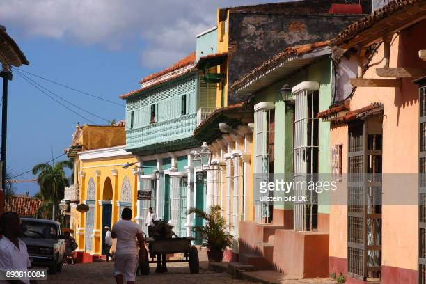 Calle Desengano Trinidad ist eine Stadt in der Provinz Sancti Spíritus / Hotel Club Amigo Costa Sur Kuba Cuba Urlaub Republica de Cuba Republik Kuba...