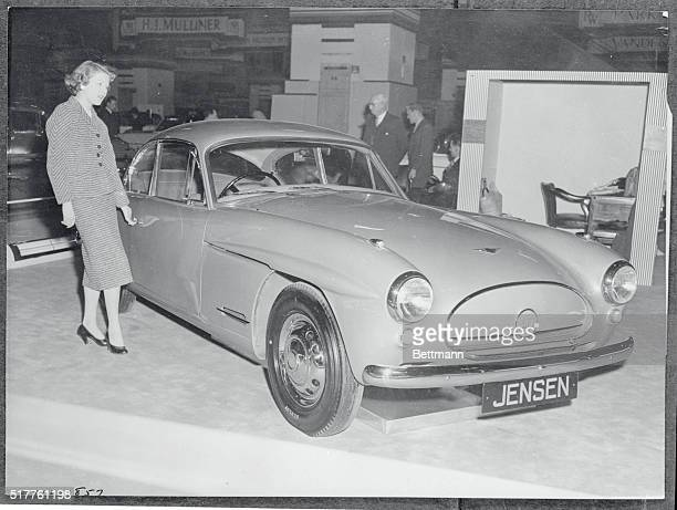 Called the only all plastic bodied car in the world this Jensen Model 541 four seater Tourer was being exhibited at the 39th Motor Show which opened...