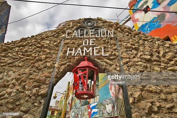 callejon de hamel art and music district of havana - callejon stock pictures, royalty-free photos & images