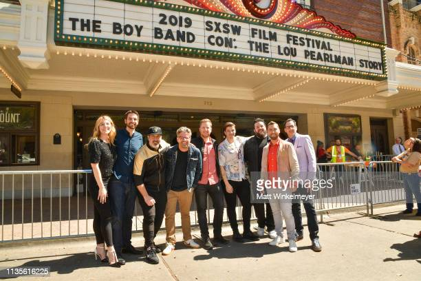 Callie Foster Shane Patterson Joey Fatone Dave Holmes Aaron Kunkel Matthew Charles Ducey Henry Darrow McComas Lance Bass and Nicholas Caprio attend...