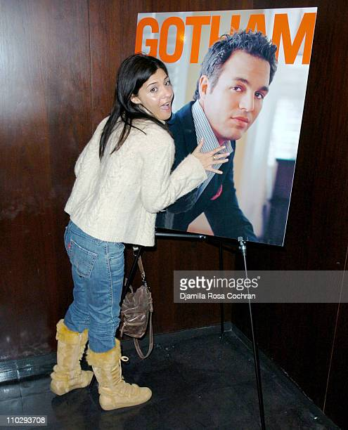 Callie Thorne at Gotham Magazine Celebrates Cover Model Mark Ruffalo with a Screening of his New Film 'Zodiac' at the Bryant Park Hotel