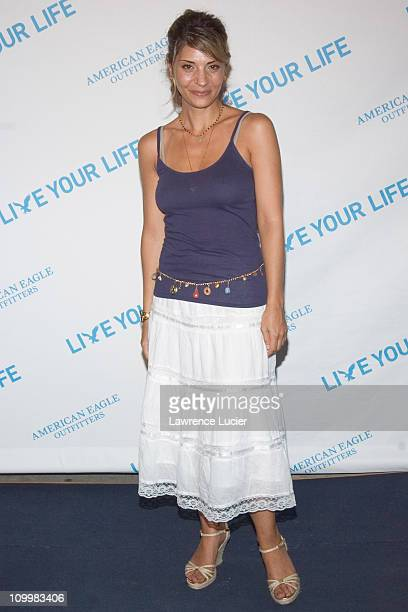 Callie Thorne during American Eagle Announces Six Winners of National Live Your Life Contest at Union Square Celebration at American Eagle Outfitters...