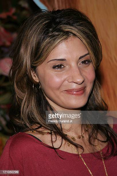 Callie Thorne during 'Ice Age 2 The Meltdown' New York screening Inside Arrivals at Ziegfeld Theater in New York NY United States