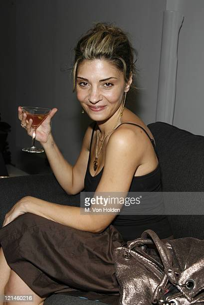 Callie Thorne during Launch of Loft 21 by Pier 1 at Skylight Studios in New York NY United States