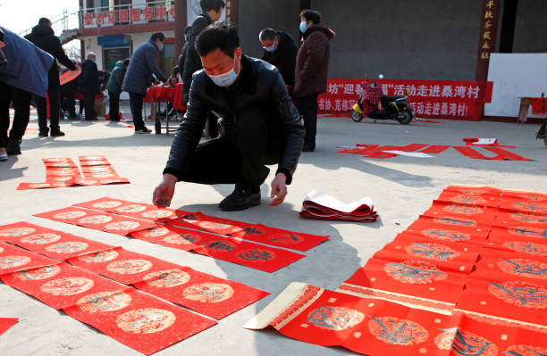 CHN: Chinese People Prepare For The Lunar New Year