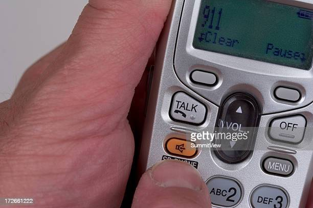calling 911 - dialing stock pictures, royalty-free photos & images