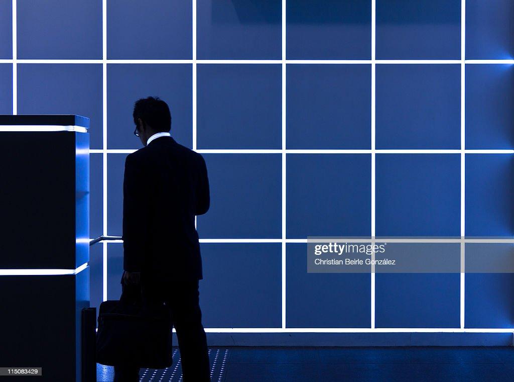 Calling of master control program : Stock-Foto