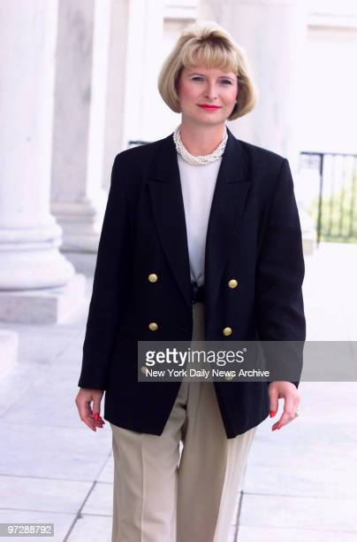 Callista Bisek, Newt Gingrich's girlfriend, at the Longworth House Office Building in Washington. She's a House Agricultural Committee aide.
