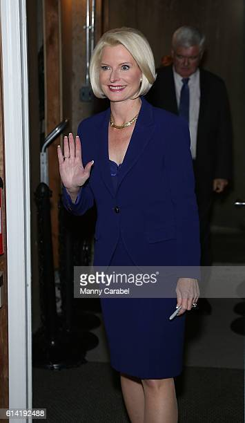 Callista Gingrich signs copies of the book 'Treason & Hail To The Chief at Bookends Bookstore on October 12, 2016 in Ridgewood, New Jersey.