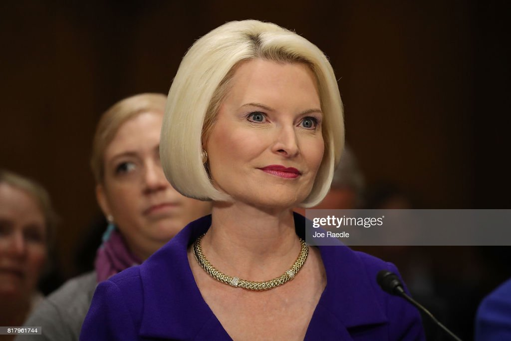 Senate Confirmation Hearing Held For Callista Gingrich To Be Holy See Ambassador : News Photo