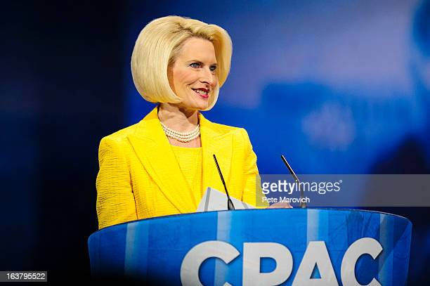 Callista Gingrich speaks at the 2013 Conservative Political Action Conference March 16 2013 in National Harbor Maryland The American Conservative...