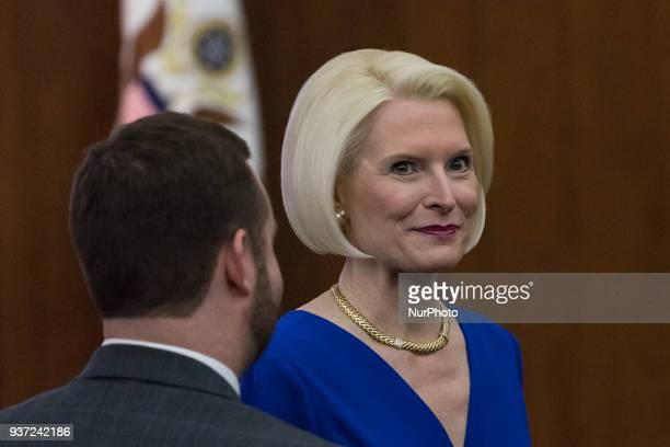Callista Gingrich US Ambassador to the Holy See was present for the annual International Women of Courage Awards honoring 10 extraordinary women from...