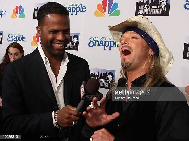 Calloway and Bret Michaels attends 'The Celebrity Apprentice' Season 3 finale after party at the Trump SoHo on May 23 2010 in New York City