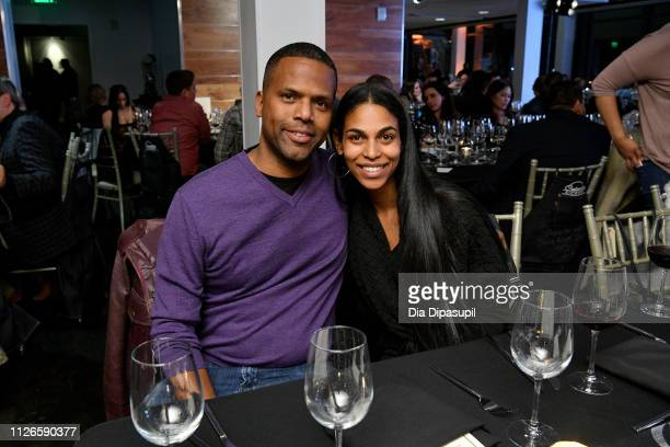 J Calloway and Dionne Walker attend 'Culinary Kickoff' at Ventanas on January 31 2019 in Atlanta Georgia