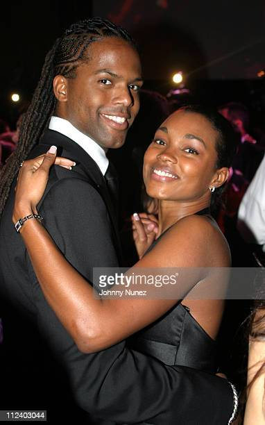 AJ Calloway and guest during Jacob The Jeweler's 40th Birthday Party at Cipriani's in New York City New York United States