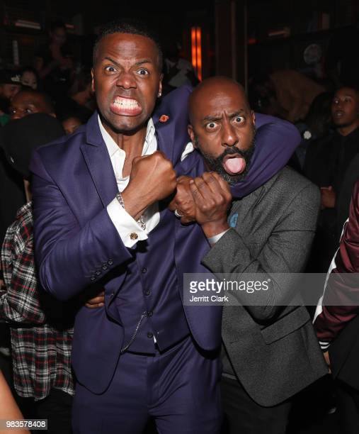 Calloway and Stephen Hill attend The 8th Annual Mark Pitts Bystorm Ent Post BET Awards Party Powered By Ciroc on June 24 2018 in Los Angeles...