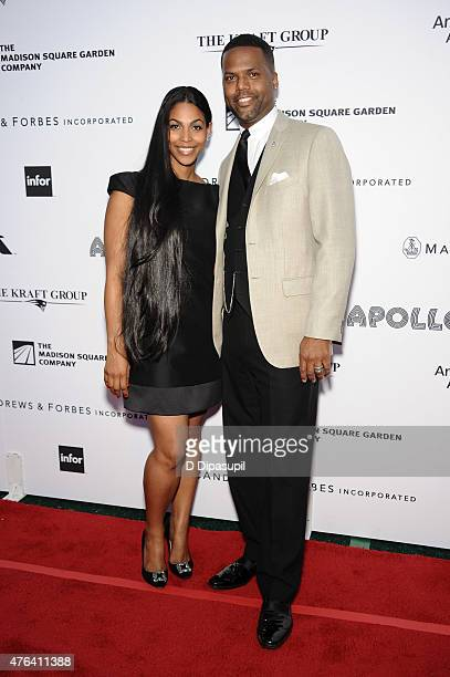 Calloway and wife Dionne Walker attend The Apollo Theater's 10th Annual Spring Gala at The Apollo Theater on June 8 2015 in New York City