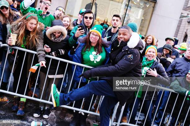 Calloway attends the 256th Annual St Patrick's Day Parade on March 17 2017 in New York City