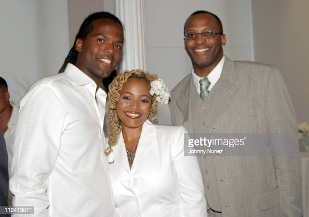 AJ Calloway Kim Fields and Tony Brown during TCI Country Presentation and Reception at Tribeca Luxury Loft in New York City New York United States