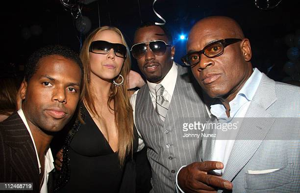 AJ Calloway Mariah Carey Sean Pdiddy Combs and Andre Harrell