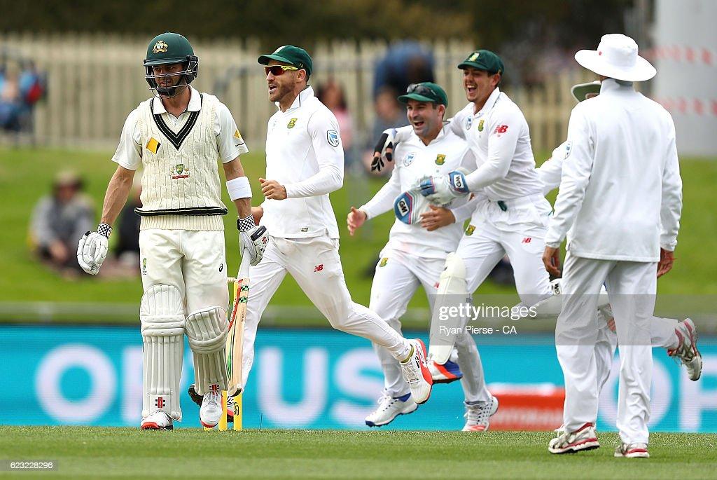 Australia v South Africa - 2nd Test: Day 4