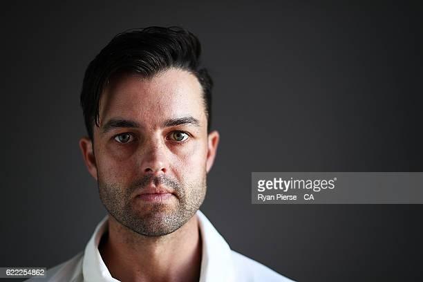 Callum Ferguson of Australia poses during a Headshots session on November 11 2016 in Hobart Australia