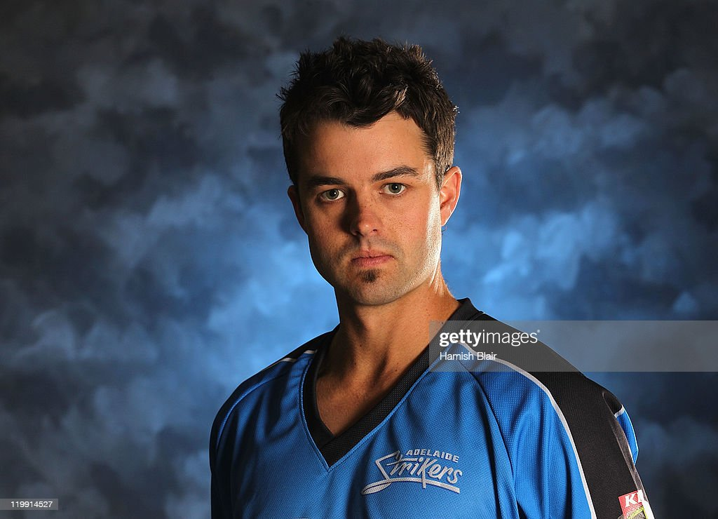 Callum Ferguson of the Adelaide Strikers poses for a portrait ahead of the launch of the KFC T20 Big Bash League on July 27, 2011 in Sydney, Australia.