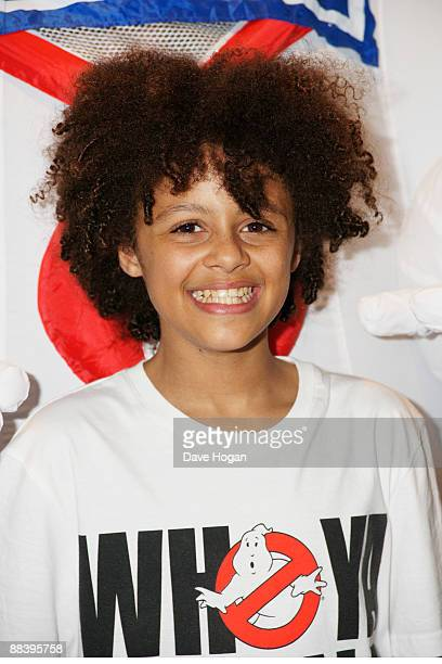 Callum Francis from Britains got talent attends a VIP screening of Ghostbusters held at the Soho Hotel on June 10 2009 in London England