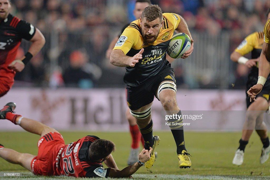 Super Rugby Rd 17 - Crusaders v Hurricanes : News Photo