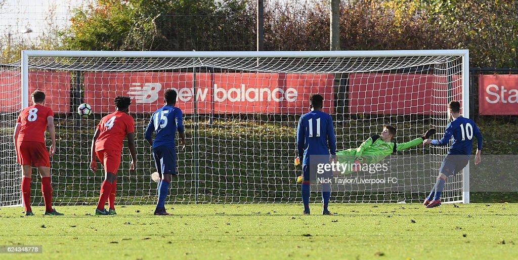 Liverpool v Manchester United: U18 Premier League : News Photo