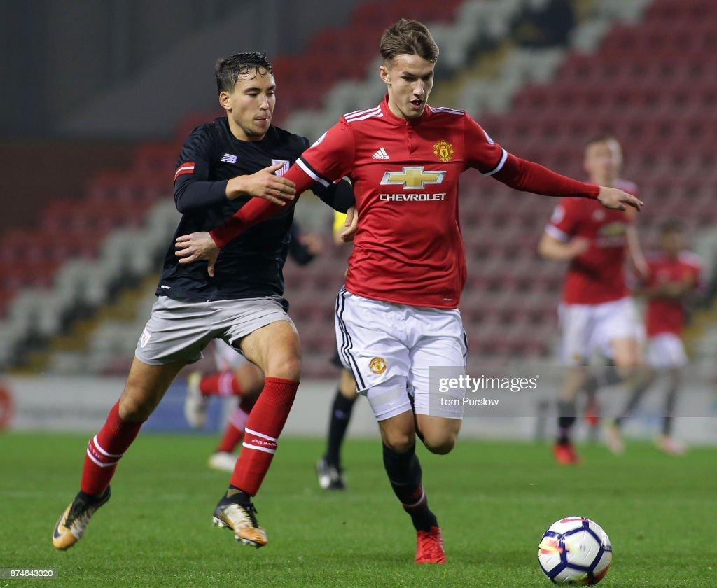 Manchester United U23 v Athletic Bilbao U23: Premier League International Cup : News Photo