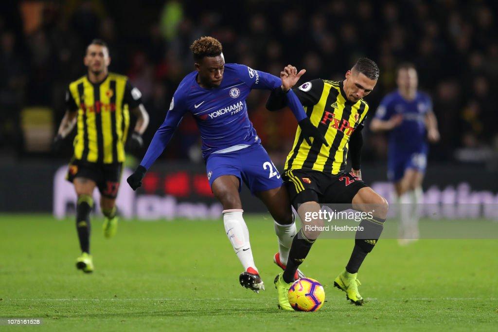 Watford FC v Chelsea FC - Premier League : News Photo