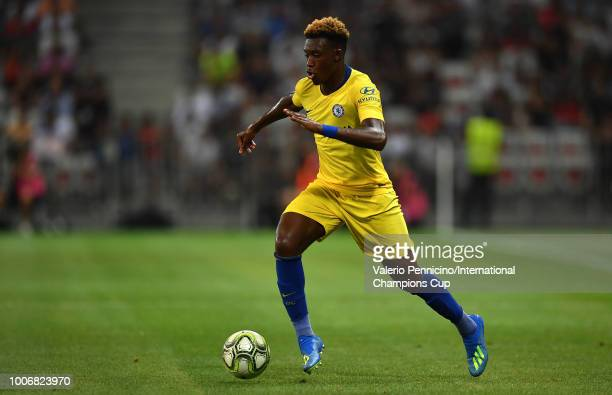 Callum HudsonOdoi of Chelsea during the International Champions Cup 2018 match between Chelsea and FC Internazionale at Allianz Riviera Stadium on...