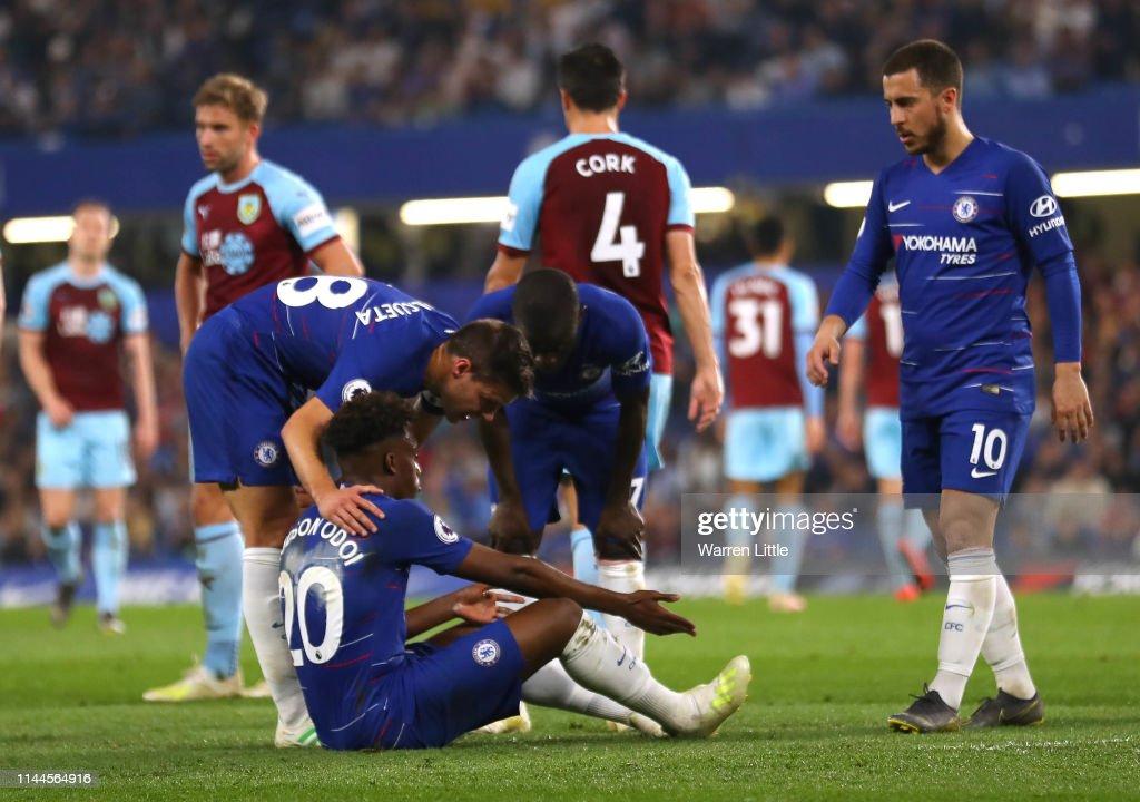 Chelsea FC v Burnley FC - Premier League : News Photo