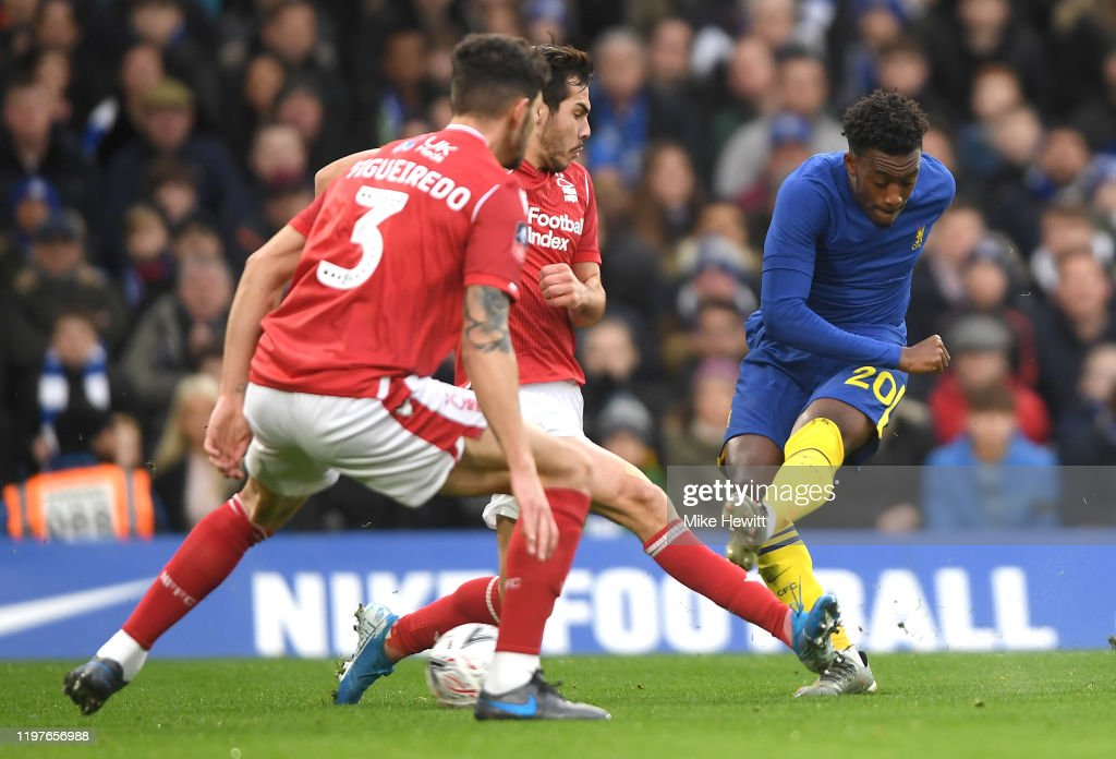 Chelsea FC v Nottingham Forest - FA Cup Third Round : ニュース写真