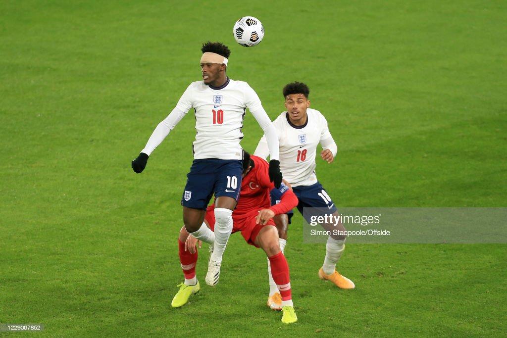 England U21 v Turkey U21 - UEFA Euro Under 21 Qualifier : News Photo