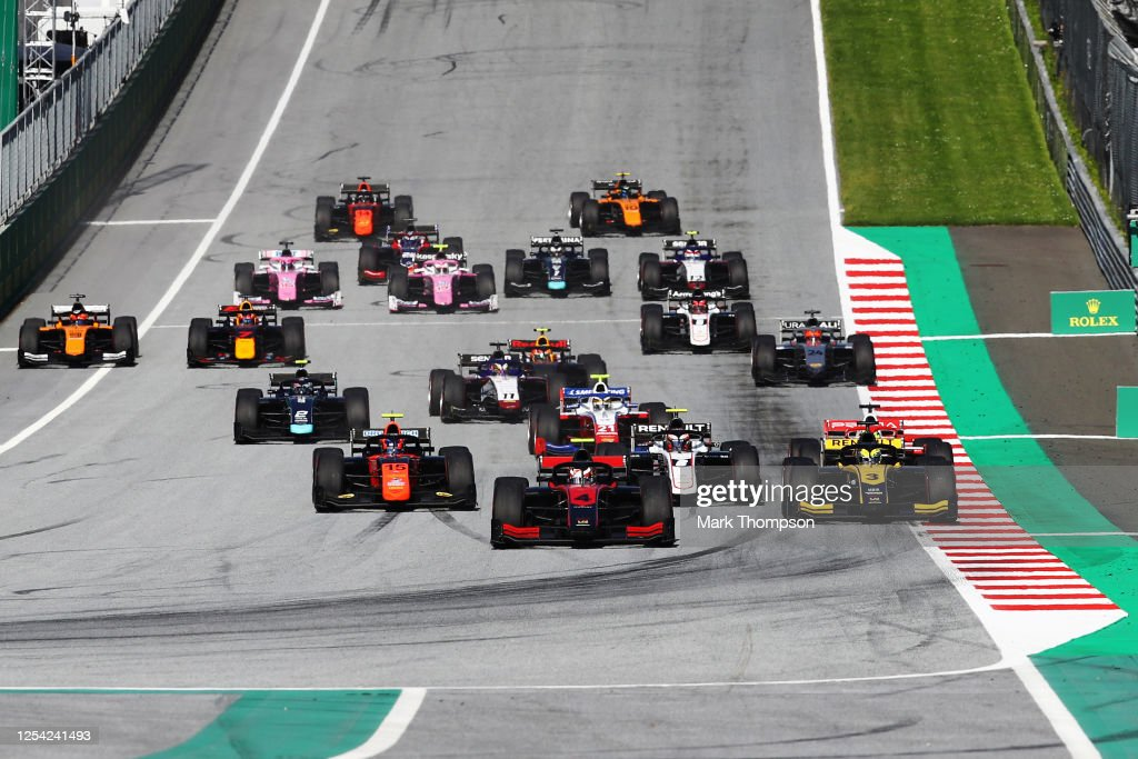 Formula 2 Championship - Round 1:Spielberg - First Race : News Photo