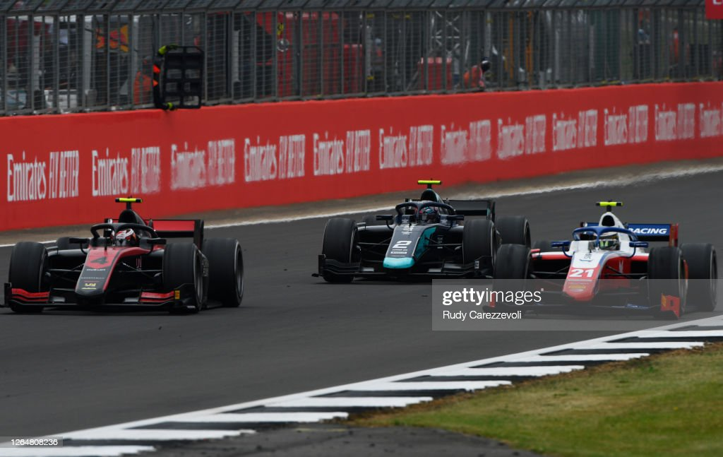 Formula 2 Championship - Round 5:Silverstone - Sprint Race : News Photo