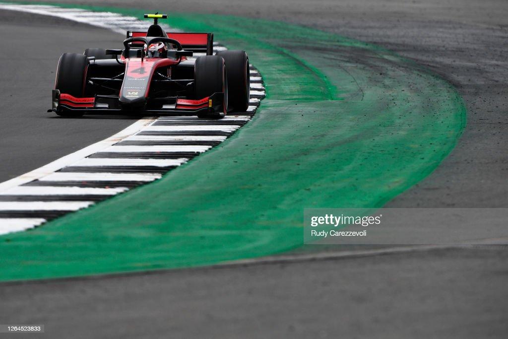 Formula 2 Championship - Round 5:Silverstone - Practice & Qualifying : News Photo