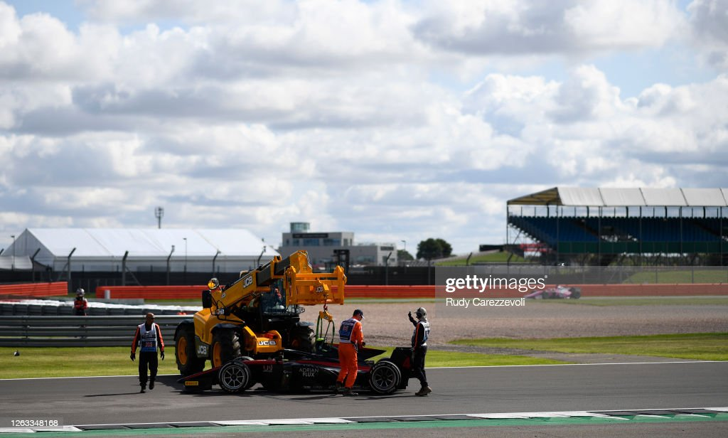 Formula 2 Championship - Round 4:Silverstone - Sprint Race : News Photo