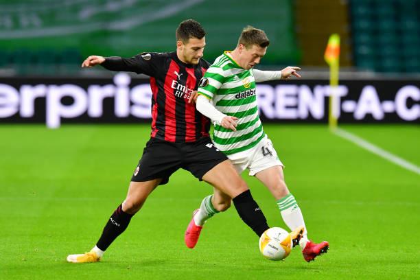 GBR: Celtic v AC Milan: Group H - UEFA Europa League