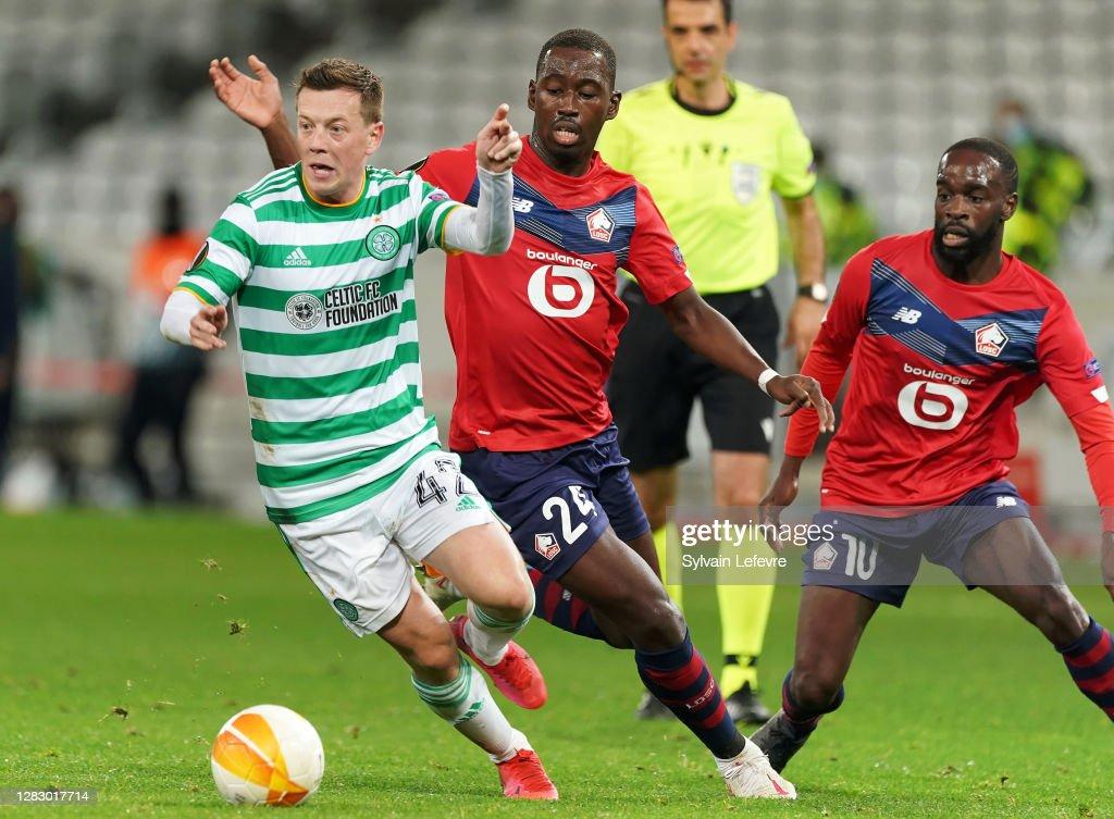 LOSC Lille v Celtic: Group H - UEFA Europa League : News Photo
