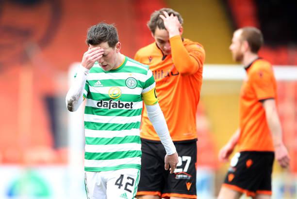 GBR: Dundee United v Celtic - Ladbrokes Scottish Premiership