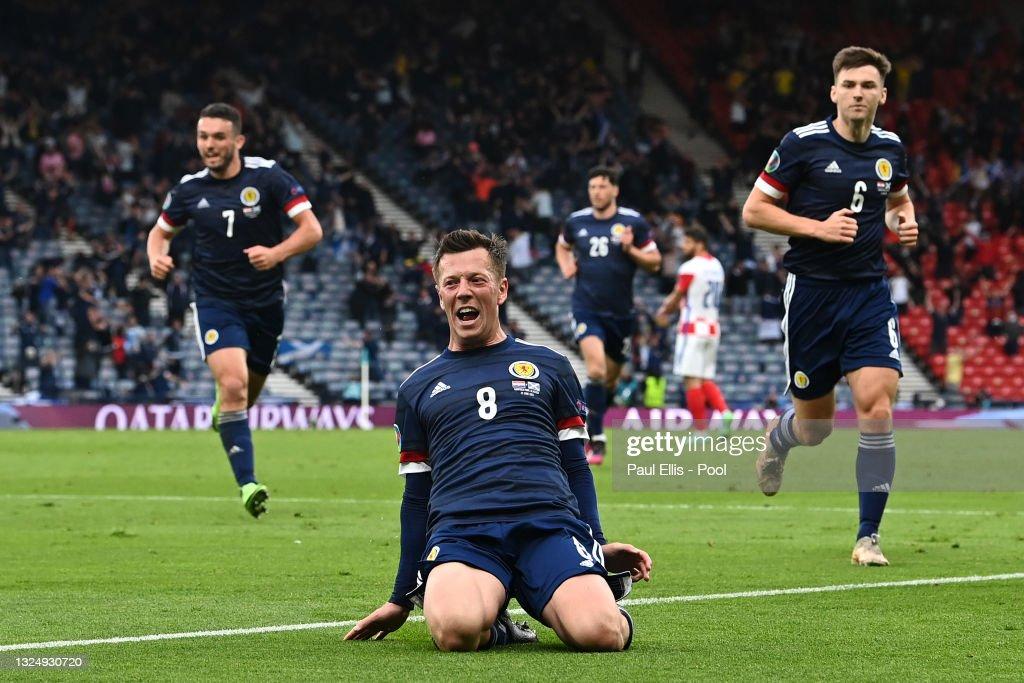 Croatia v Scotland - UEFA Euro 2020: Group D : News Photo
