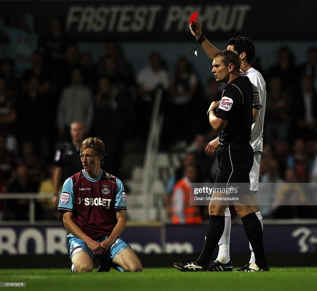West Ham United v Aldershot Town - Carling Cup First Round : News Photo