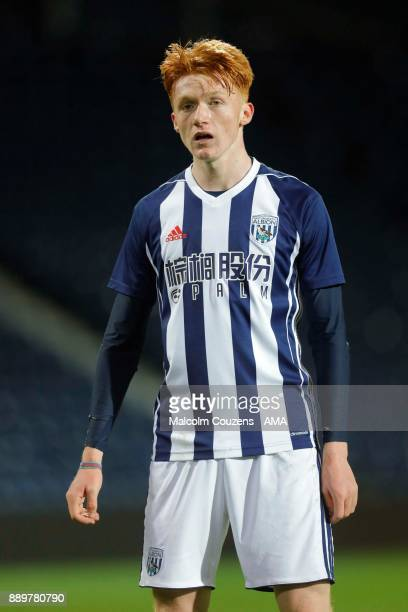 Callum Morton of West Bromwich Albion during the FA Youth Cup game between West Bromwich Albion and Leyton Orient on December 5 2017 in West Bromwich...