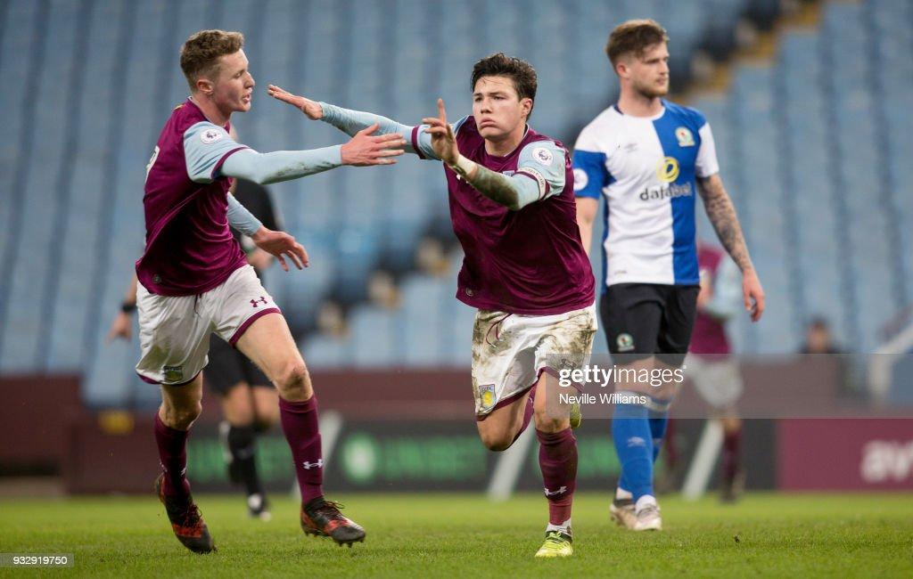 Aston Villa v Blackburn Rovers: Premier League Cup