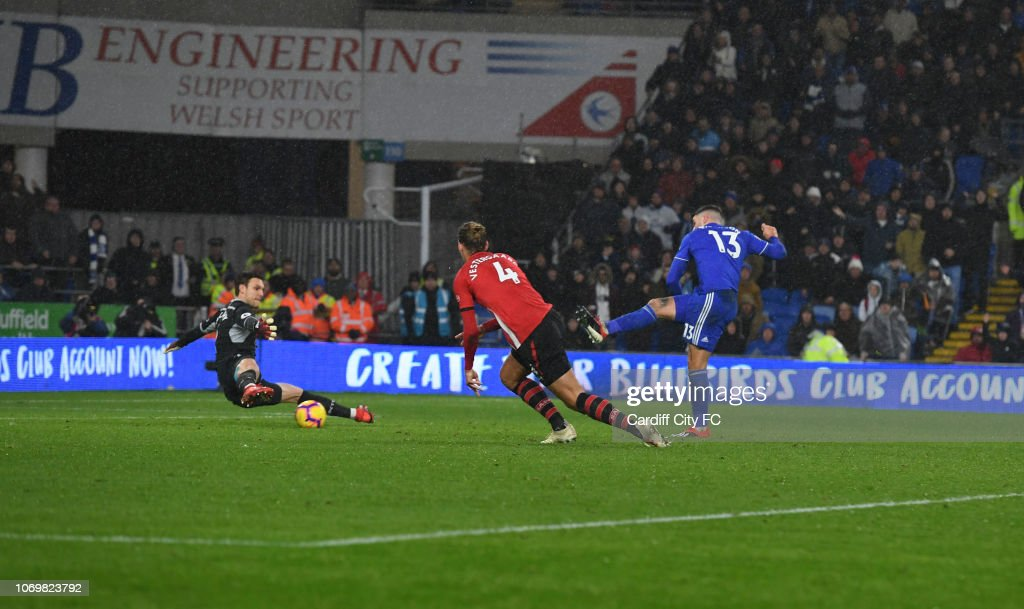 Cardiff City v Southampton FC - Premier League : News Photo