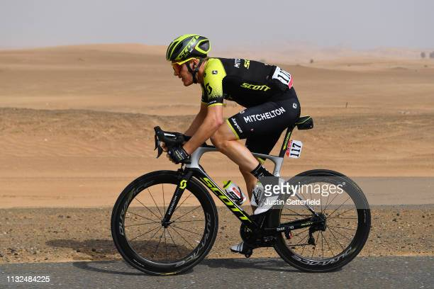 Callum Scotson of Australia and Team MitcheltonScott / during the 5th UAE Tour 2019 Stage 4 a 197km stage from Palm Jumeirah Dubai to Hatta Dam 419m...